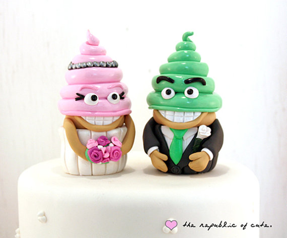 quirky cake toppers