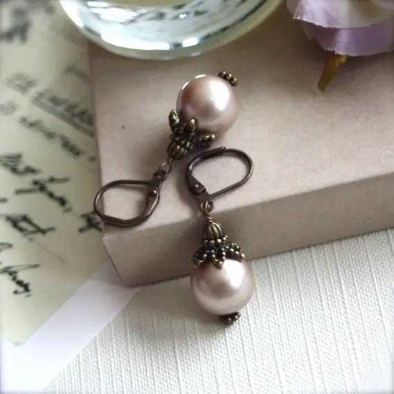 handmade earrings - wedding