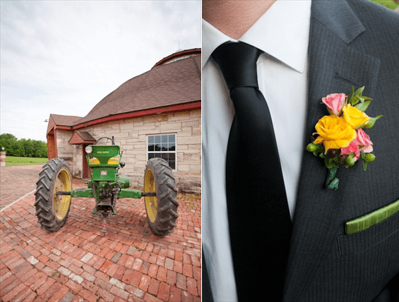 Barn Wedding in Solon, IA