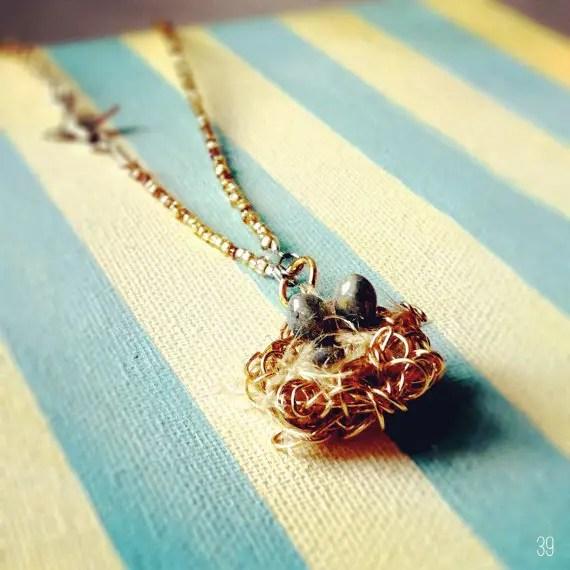 bird wedding necklace