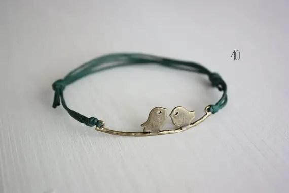 bird wedding bracelet