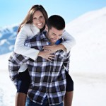 Snowy Idaho Engagement