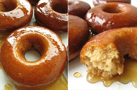 cider doughnuts - fall desserts for weddings