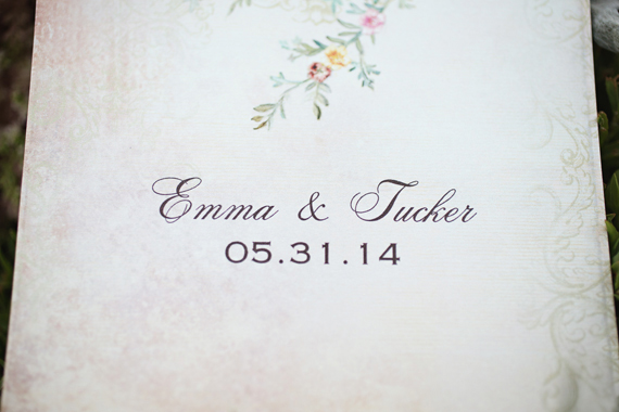 KimAnne Photography - iowa backyard wedding - wedding-date-card