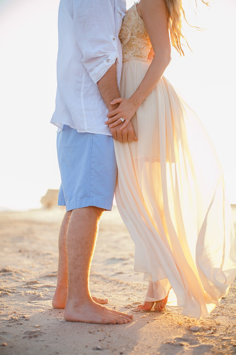 Topsail Island Engagement Pictures-6