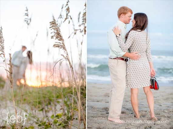Eric Boneske Photography - Wilmington Beach Engagement Session