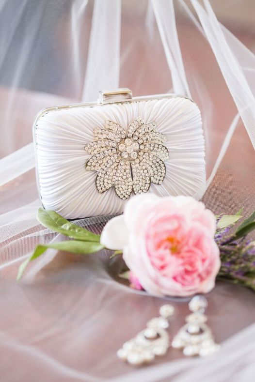 Winery Styled Wedding Shoot - the bride's clutch purse