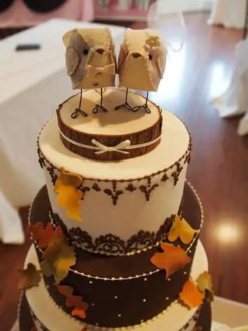 adorable bird cake topper