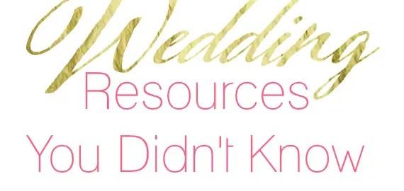 best wedding resources