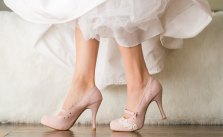 blush pink mary jane heels