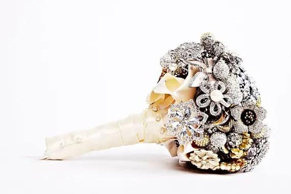 Faux Flower Bouquets (bouquet: the ritzy rose)