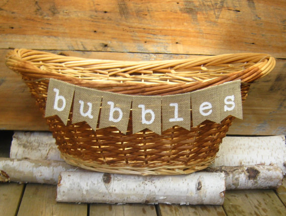 bubbles basket for ceremony by awesome celebrations | ceremony accessories weddings http://emmalinebride.com/ceremony/ceremony-accessories-weddings/