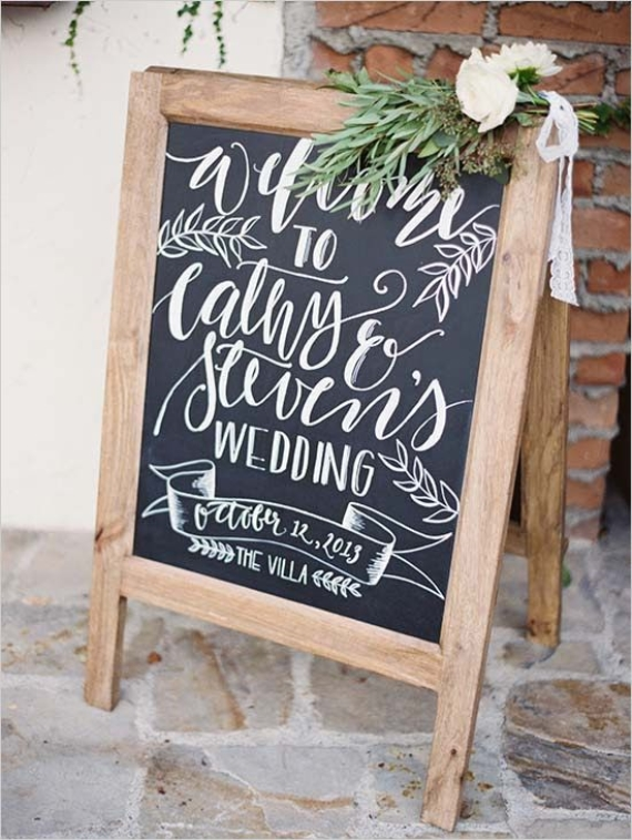 21 most inspiring ideas for chalkboard wedding theme. Black Bedroom Furniture Sets. Home Design Ideas
