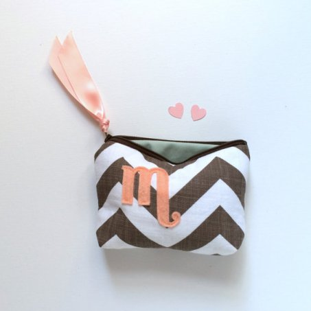 Bridesmaid Cosmetic Bags