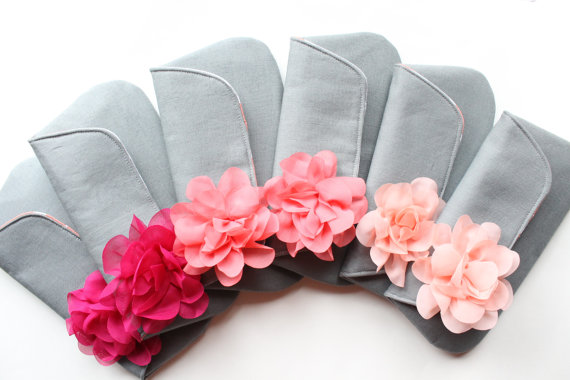 What's Hot in The Marketplace - 9.12.13 - clutch purse with flowers by allisa jacobs