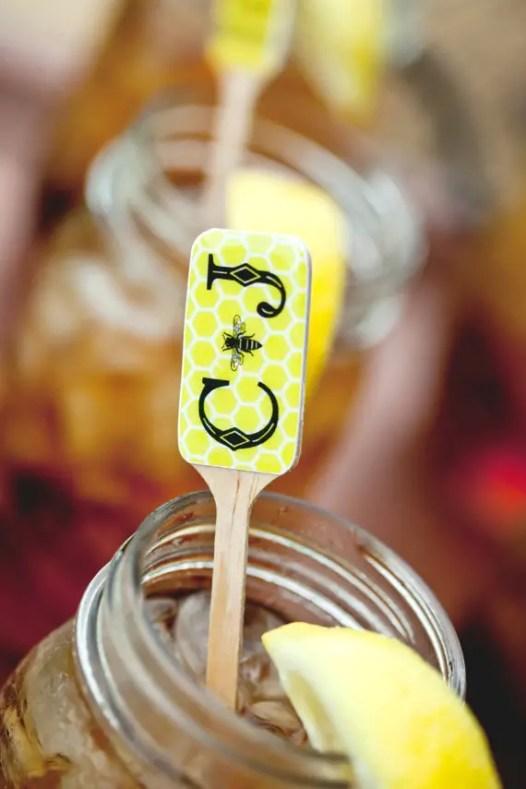 Wedding swizzle sticks by Company Forty Two | http://emmalinebride.com/reception/swizzle-sticks-weddings/