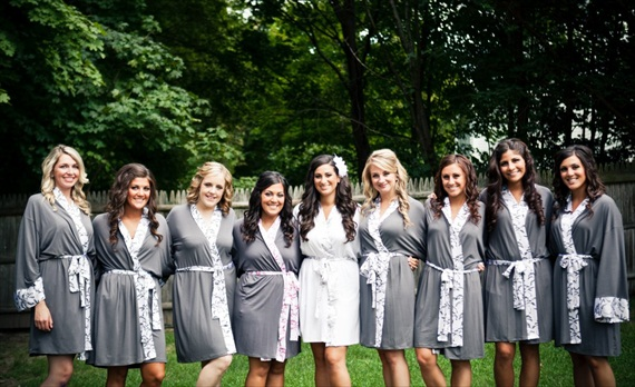 Bridesmaid Getting Ready Outfit Ideas - robes by doie lounge, photo by katie hall