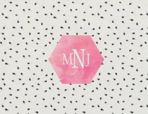 easy diy wedding ideas fabric monogrammed