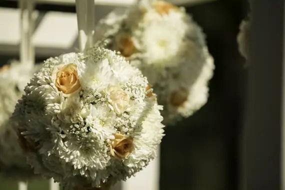 Rebecca Borg Photography - wedding aisle flower decorations