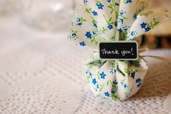50 Best Bridal Shower Favor Ideas: favor sachets (by decor by wildflower)
