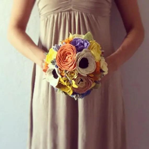 Faux Flower Bouquets (bouquet: handmade colectibles)