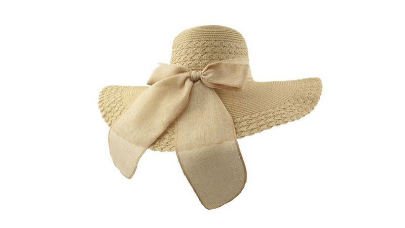 floppy sunhat with bow