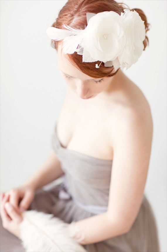 Wedding Halo Headbands & Crowns (headband: sibo designs)