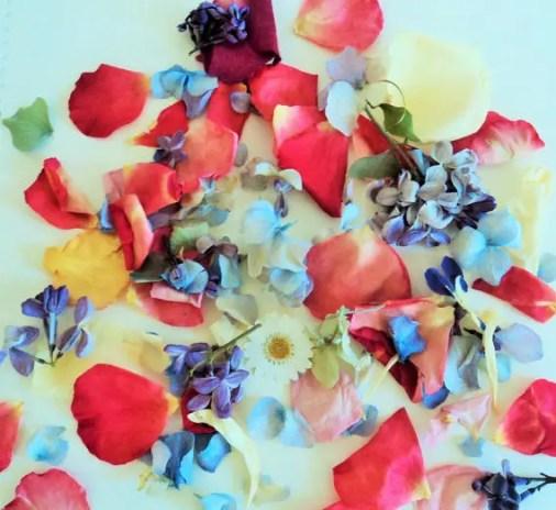 flower cofetti