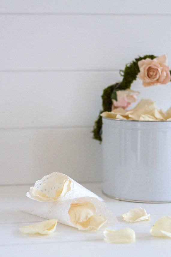flower petals by flowerfetti | ceremony accessories weddings http://emmalinebride.com/ceremony/ceremony-accessories-weddings/