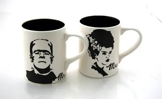 frankenstein bride of frankenstein mugs