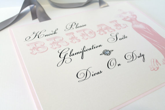 Getting Ready for Your Wedding Sign