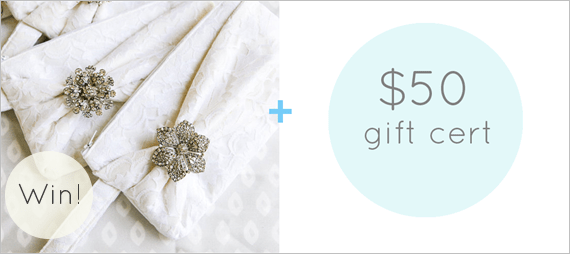 Gift for Bridesmaids - Bow Clutches by Brighter Day + $50 Gift Certificate to Nestina Accessories