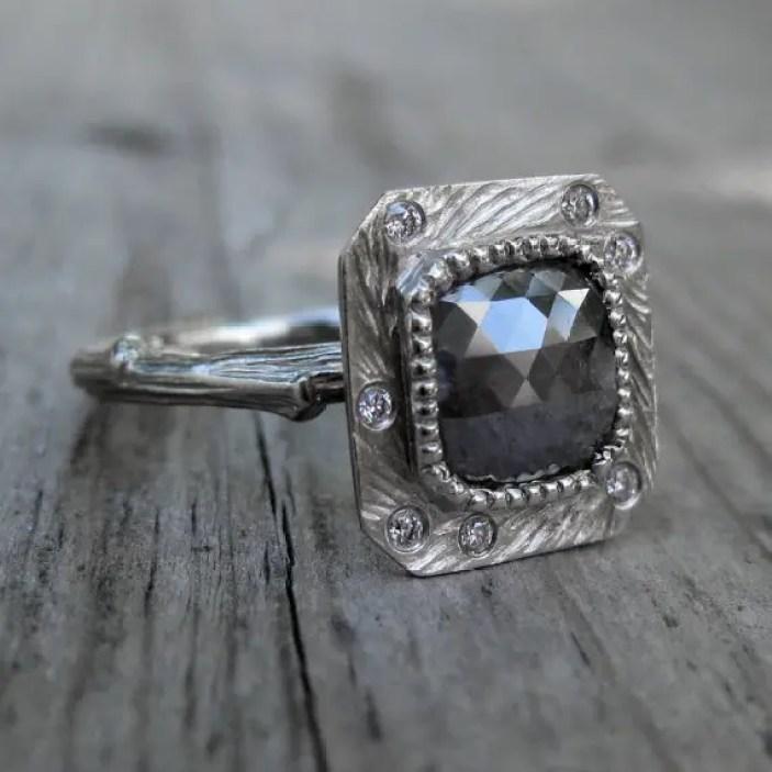 grey-diamond-twig-shaped-engagement-ring