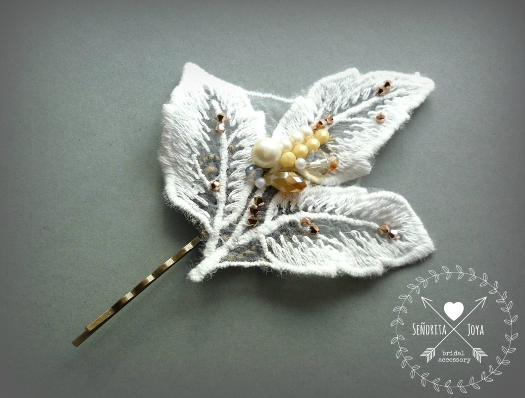 hair pin | what to wear instead of a veil