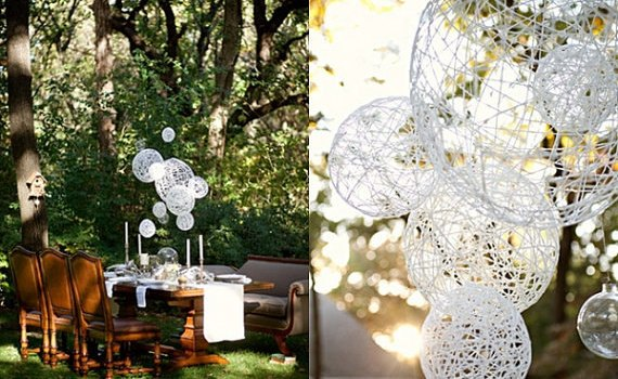 hanging spheres
