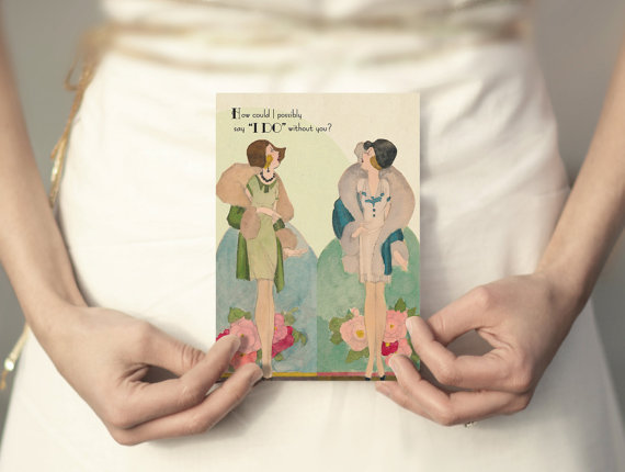 how could i say i do without you (be my bridesmaid card)