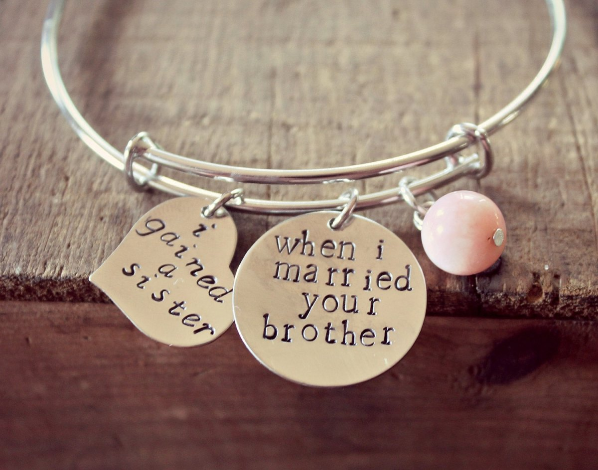Wedding Gifts Ideas For Sister : Jewelry for Sister-in-Law Bridesmaid Gift?Ask Emmaline