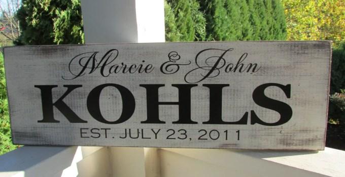 kohls established sign