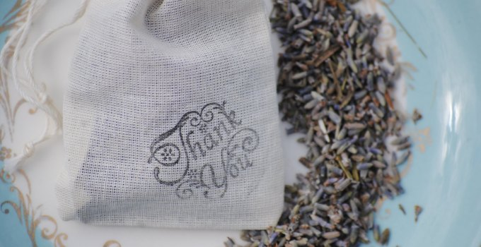 lavender wedding toss bags