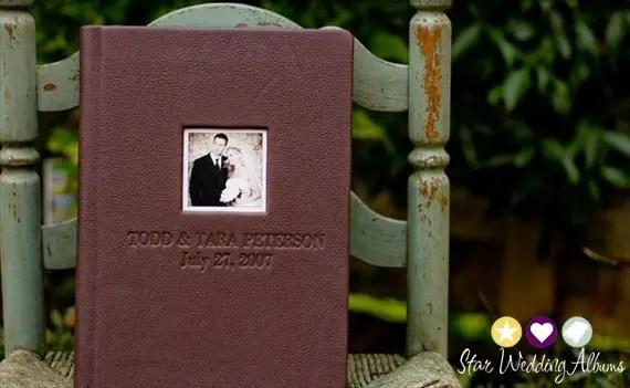 leather album cover win a free wedding photo album