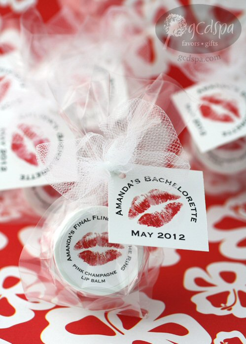 Lip Balm Favors (by GCDSpa via Emmaline Bride)