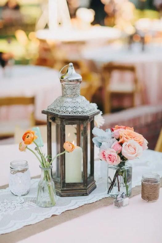 Milk bottle wedding decor mason jar alternative