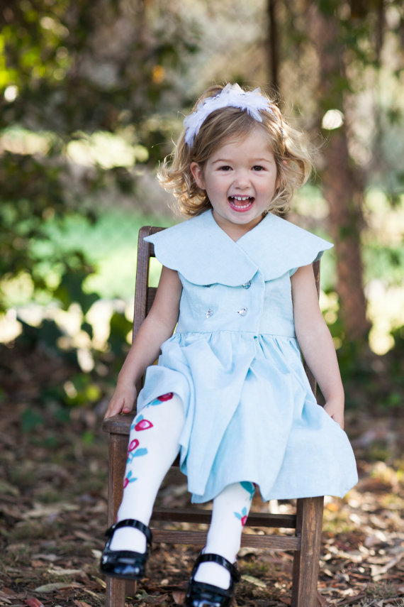 mint - spring flower girl dresses #wedding