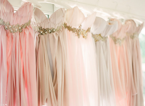 mismatched bridesmaid dresses done right