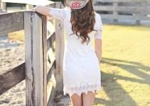 monogram cowboy hat wedding