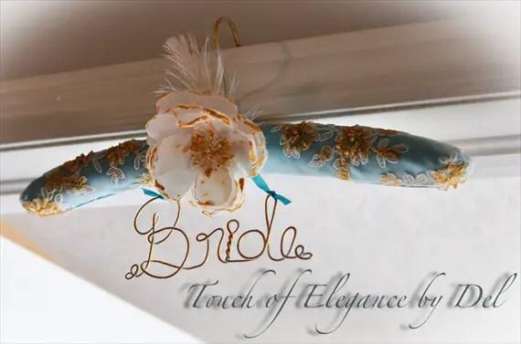 padded wedding dress hanger