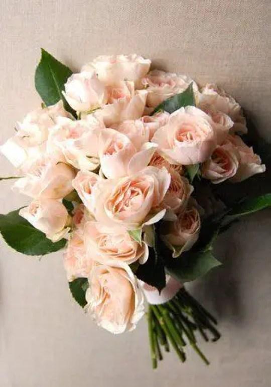 rose wedding bouquet diy