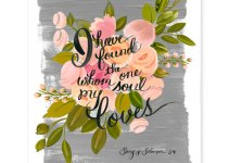 song of solomon | #wedding Wedding Poster Ideas for (Easy!) Decor