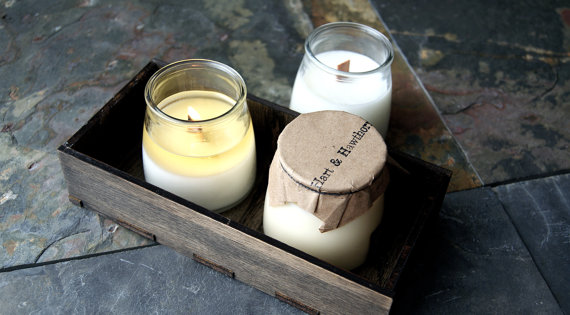 handmade soy candles