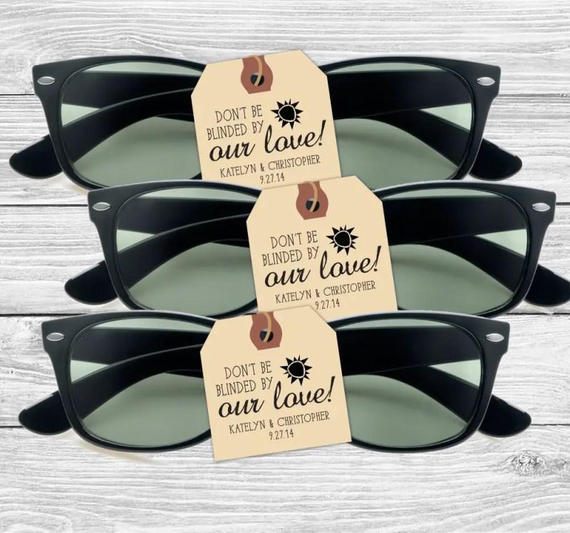 sunglasses favors